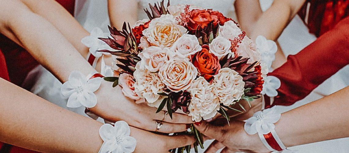 Damas de honor en boda